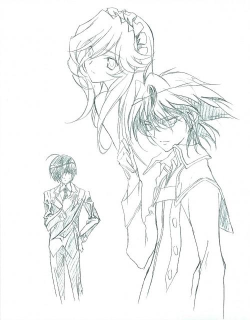 Kaishaku, Kyoshiro to Towa no Sora, Jin Oogami, Kyoshiro Ayanokoji, Setsuna (Kyoushiro to Towa no Sora)