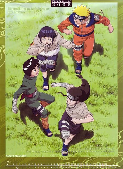 Studio Pierrot, Naruto, Rock Lee, Hinata Hyuuga, Neji Hyuuga