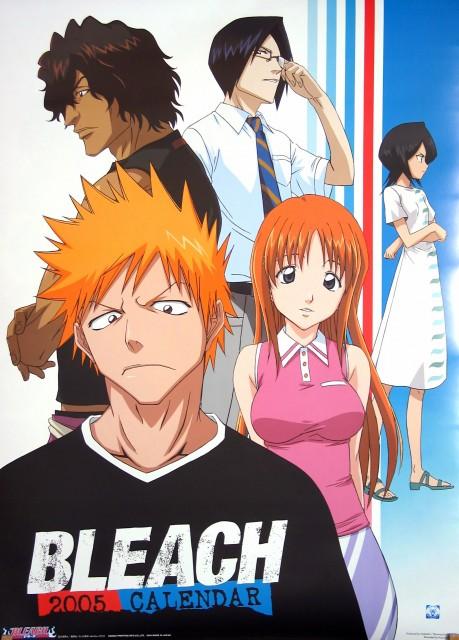 Studio Pierrot, Bleach, Ichigo Kurosaki, Rukia Kuchiki, Uryuu Ishida