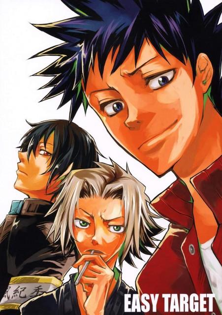 Katekyo Hitman Reborn!, Kyoya Hibari, Hayato Gokudera, Takeshi Yamamoto, Doujinshi