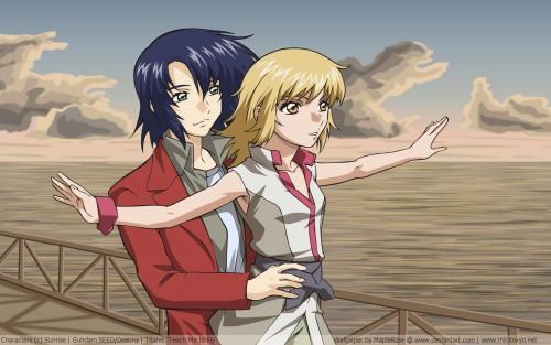 Mobile Suit Gundam SEED Destiny, Cagalli Yula Athha, Athrun Zala Wallpaper