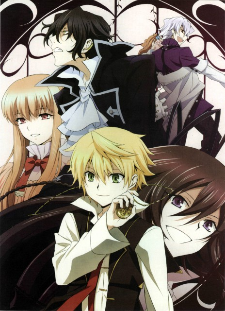 Pandora Hearts, Emily (Pandora Hearts), Xerxes Break, Sharon Rainsworth, Alice (Pandora Hearts)