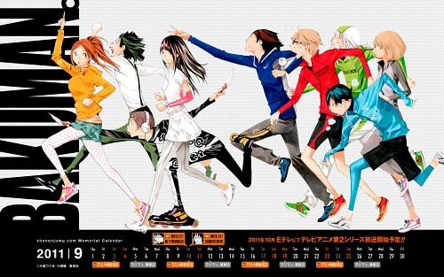 Takeshi Obata, Bakuman, Eiji Niizuma, Yuriko Aoki, Akito Takagi