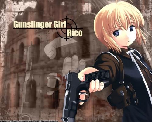 Madhouse, Gunslinger Girl, Rico (Gunslinger Girl) Wallpaper