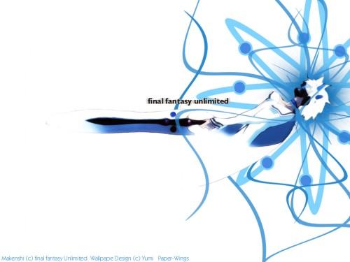 Square Enix, Gonzo, Final Fantasy Unlimited, Shiroi Kumo Wallpaper