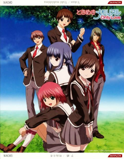 Konami, Tokimeki Memorial Only Love, Sayuri Amamiya, Mina Yayoi, Tsukasa Kasuga