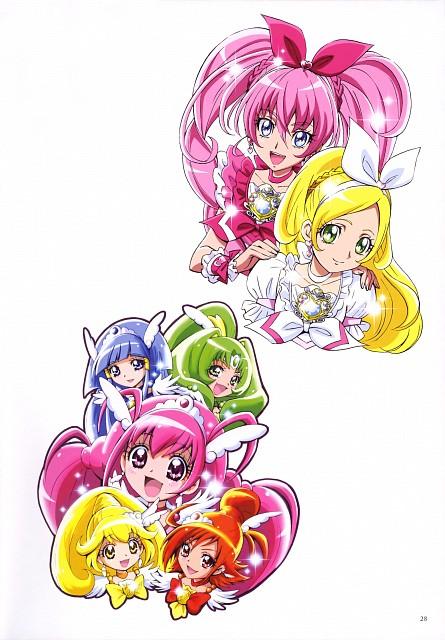 Futago Kamikita, Smile Precure!, Suite Precure, Futago Kamikita All Precure Illustration Collection, Cure Melody