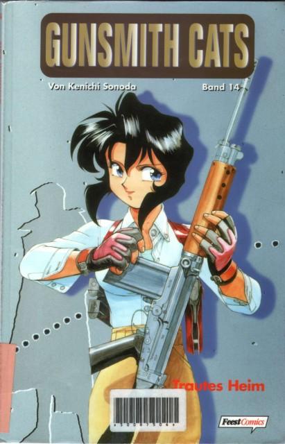 Kenichi Sonoda, OLM Digital Inc, Gunsmith Cats, Irene Vincent, Manga Cover