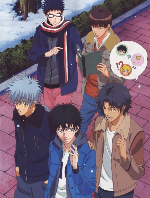 Takeshi Konomi, J.C. Staff, Prince of Tennis, Senri Chitose, Akaya Kirihara