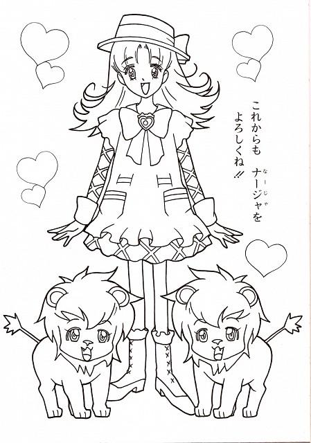 Yui Ayumi, Toei Animation, Ashita no Nadja, Nadja Applefield, Mascots