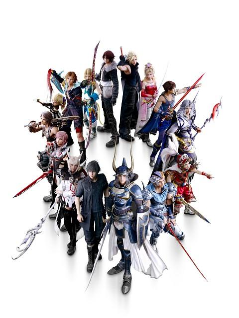 Square Enix, Dissidia Final Fantasy, Final Fantasy XIV, Final Fantasy XIII, Final Fantasy XII