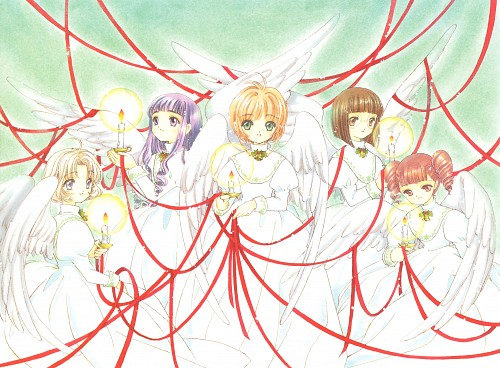 CLAMP, Madhouse, Cardcaptor Sakura, Cardcaptor Sakura Illustrations Collection 2, Chiharu Mihara