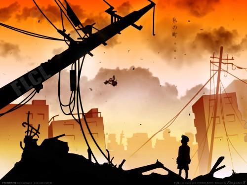 Yoshiyuki Sadamoto, Gainax, FLCL, Naota Nandaba Wallpaper