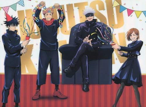 Gege Akutami, MAPPA, Jujutsu Kaisen, Satoru Gojou, Megumi Fushigura
