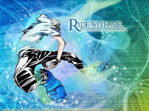 Oh! Great, Air Gear, Kazuma Mikura Wallpaper