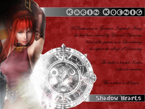Sacnoth, Shadow Hearts, Karin Koenig Wallpaper