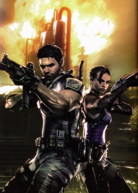Capcom, Resident Evil 5, Sheva Alomar, Chris Redfield