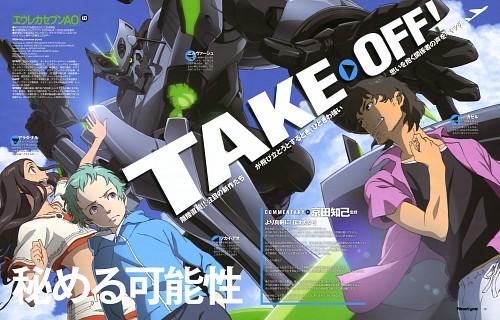 Shiho Takeuchi, Hideki Yamazaki, BONES, Eureka 7: Astral Ocean, Ao Fukai