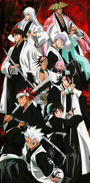 Studio Pierrot, Bleach, Shunsui Kyouraku, Yachiru Kusajishi, Gin Ichimaru
