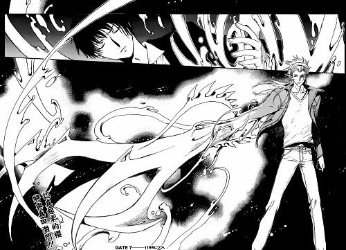 CLAMP, GATE 7, Tachibana, Sakura (GATE 7), Manga Panels