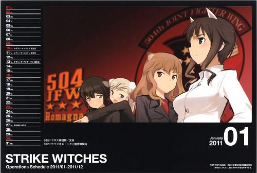 Anime International Company, Gonzo, Strike Witches, Luciana Mazzei, Fernandia Malvezzi