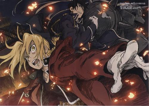 BONES, Fullmetal Alchemist, Edward Elric, Alphonse Elric, Roy Mustang