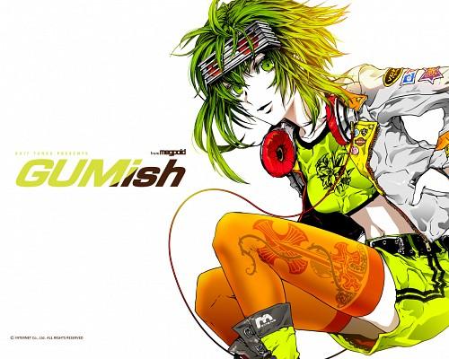 Nagimiso, Vocaloid, Gumi, Official Wallpaper