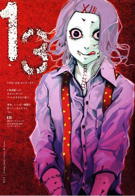 Sui Ishida, Tokyo Ghoul, Tokyo Ghoul [zakki], Jyuzo Suzuya