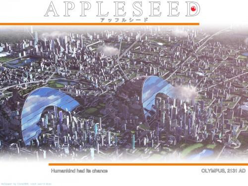 Masamune Shirow, Appleseed Wallpaper