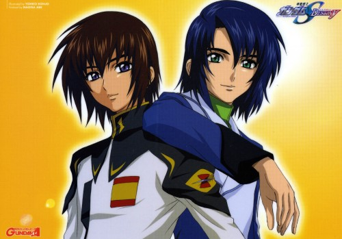 Sunrise (Studio), Mobile Suit Gundam SEED Destiny, Athrun Zala, Kira Yamato