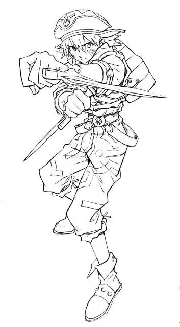 Yoshiyuki Sadamoto, .hack//Infection, Kite (.hack//infection)