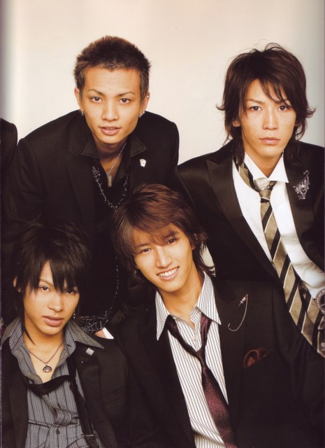 Koki Tanaka, Kazuya Kamenashi, KAT-TUN, Tatsuya Ueda, Junnosuke Taguchi