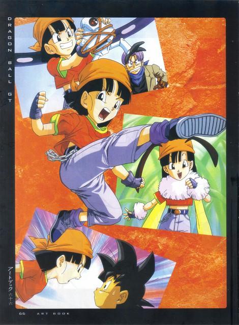 Akira Toriyama, Toei Animation, Dragon Ball, Girls - Artbook VI, Pan