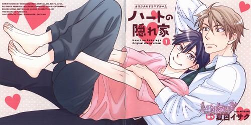 Isaku Natsume, Heart no Kakurega, Haruto Kawamura, Izumi Keitarou, Album Cover