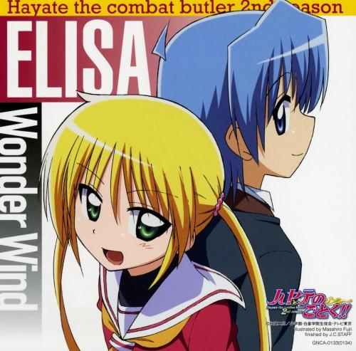 Hayate the Combat Butler, Hayate Ayasaki, Nagi Sanzenin, Album Cover