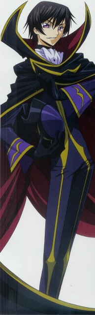 Takahiro Kimura, Sunrise (Studio), Lelouch of the Rebellion, Lelouch Lamperouge, Stick Poster