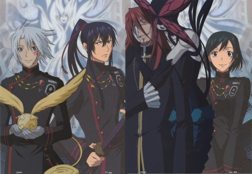 TMS Entertainment, D Gray-Man, Maria (D Gray-Man), Lenalee Lee, Cross Marian