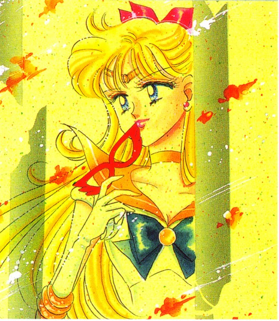 Naoko Takeuchi, Bishoujo Senshi Sailor Moon, BSSM Original Picture Collection Vol. V, Sailor Venus