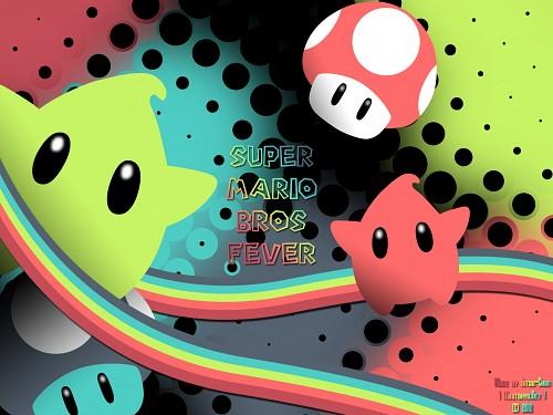 Nintendo, Super Mario, Luma, Vector Art Wallpaper