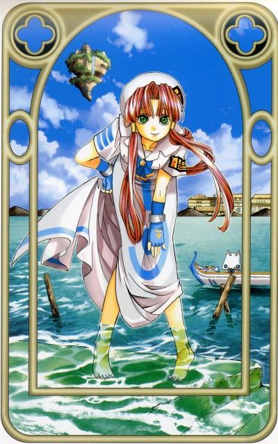 Kozue Amano, Aria, Stella – Kozue Amano Illustration Works 2, Akari Mizunashi, Aria Shachou