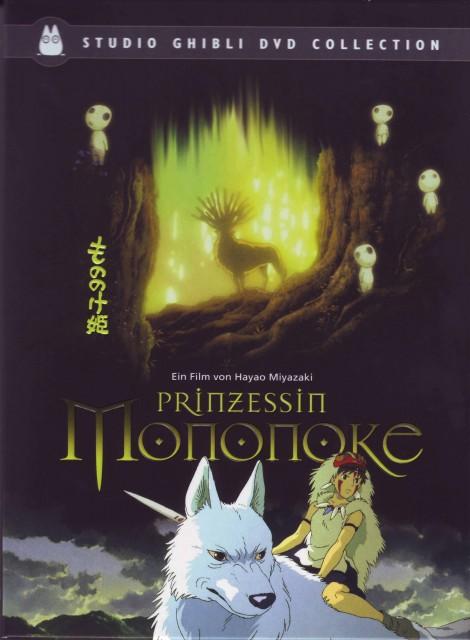 Studio Ghibli, Princess Mononoke, Moro, San, Kodama