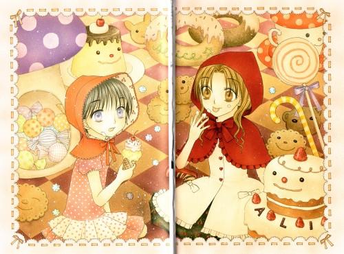 Tachibana Higuchi, Group TAC, Gakuen Alice, Gakuen Alice Illustration Fan Book, Mikan Sakura