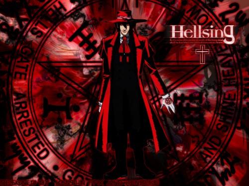 Geneon/Pioneer, Hellsing, Alucard Wallpaper