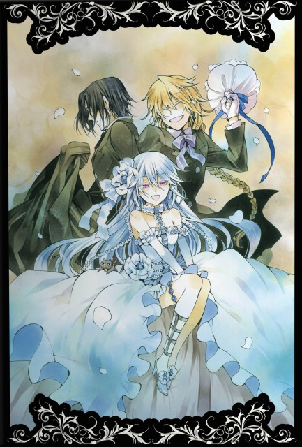 Jun Mochizuki, Pandora Hearts, Jack Vessalius, Oswald Baskerville, Will Of The Abyss