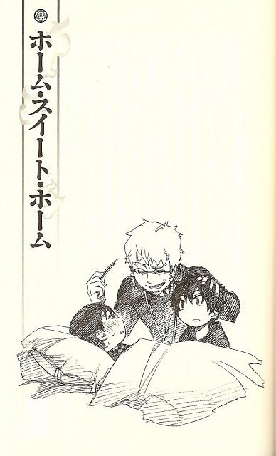 A-1 Pictures, Ao no Exorcist, Rin Okumura, Shirou Fujimoto, Yukio Okumura