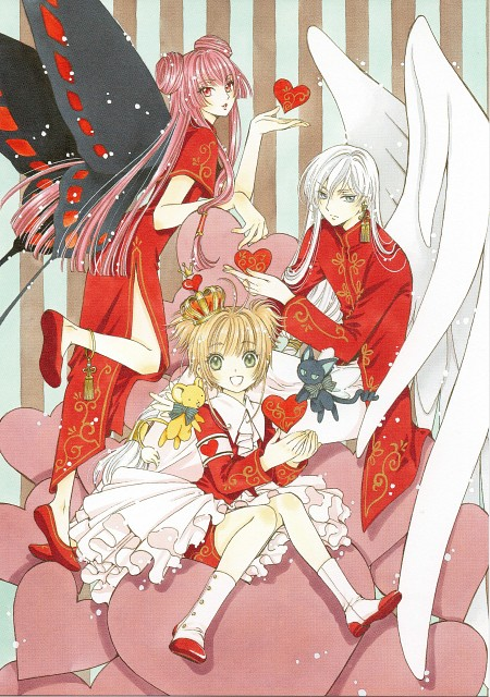 CLAMP, Cardcaptor Sakura, Yue, Ruby Moon, Spinel Sun