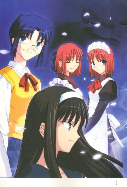 TYPE-MOON, Shingetsutan Tsukihime, Hisui (Shingetsutan Tsukihime), Ciel (Shingetsutan Tsukihime), Akiha Tohno