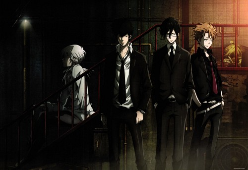 Production I.G, PSYCHO-PASS, Shougo Makishima, Kagari Shuusei, Ginoza Nobuchika
