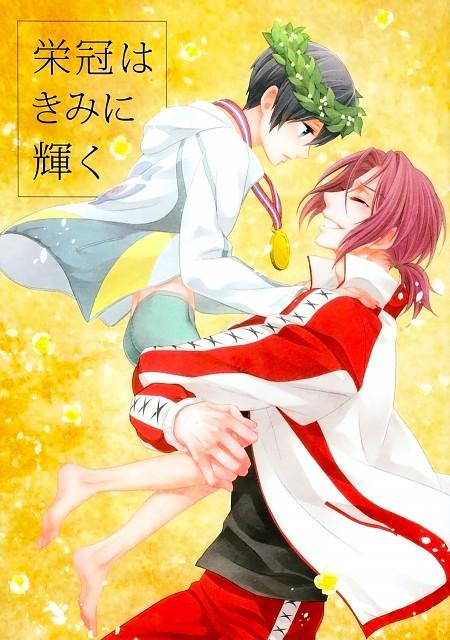 Yagi (Mangaka), Free!, Haruka Nanase (Free!), Rin Matsuoka, Doujinshi