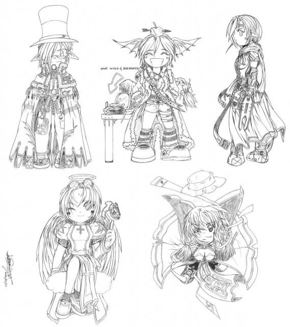 Ragnarok Online, Assassin (Ragnarok Online), Stalker, High Wizard, Priestess (Ragnarok Online)